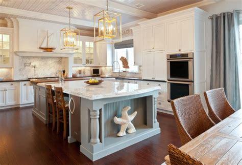 island kitchen and bath kitchen island refrigerator transitional kitchen