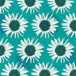 Sunflower Pattern Stock Vector - Image: 82983465