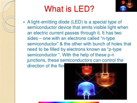 difference between l and light what is the difference between light emitting diode and