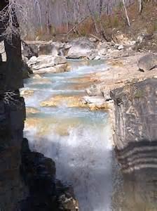 Marble Canyon Kootenay National Park Canada