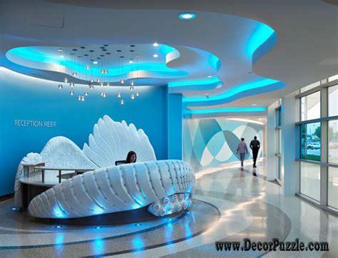 futuristic bedroom set with suspended unique ceiling design ideas 2016 for creative interiors