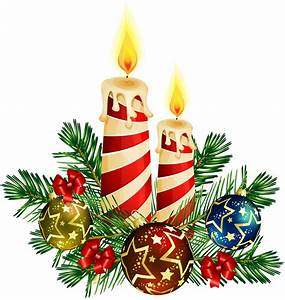 Christmas Candle Clip Art - Cliparts.co