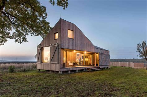energy wooden house