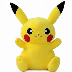 Giant Pokemon Plush XY Huge Pikachu Doll Stuffed Animal ...