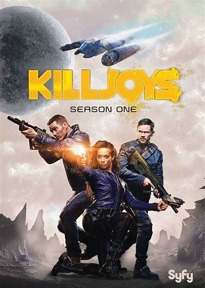 Killjoys Season Tv Dvd Series Poster Blu