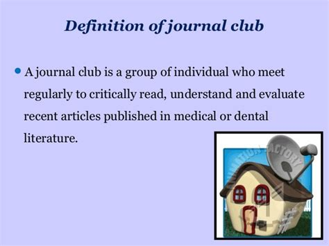 present  journal club