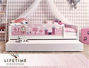 Kinderbett 90x200 Mit Rausfallschutz : kinderbetten mit seitenschutz und rausfallschutz ~ Frokenaadalensverden.com Haus und Dekorationen