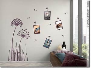 Wandtattoo Mit Bilderrahmen : wandtattoo pusteblume mit bilderrahmen ~ Bigdaddyawards.com Haus und Dekorationen