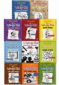 Diary Of A Wimpy Kid Collection 11 Books Set Movie Diary