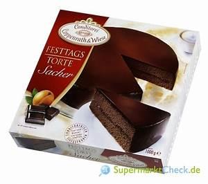 Coppenrath & Wiese Festtagstorte Sacher: Kalorien