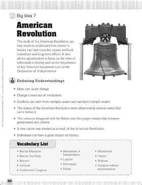 essential questions american revolution printable