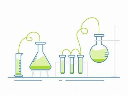 Science Dribbble Scene