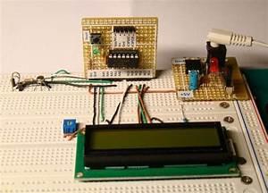 A Digital Temperature Meter Using An Lm35 Temperature