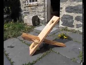 How to make a Viking chair - YouTube