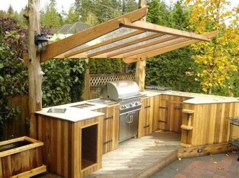 outdoor kueche macht es moeglich koestliches essen draussen