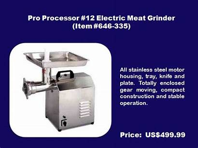 Meat Commercial Grinder Grinders Markets Electric Perfect