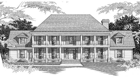 Southern Plantation Home Plans by Southern Plantation Home Plans Historic Southern