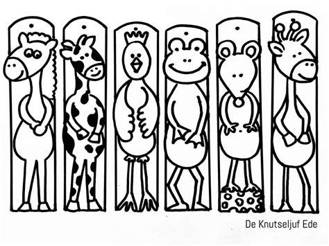 Kleurplaat Bladwijzer Printen by Kleurplaten Dieren Uitprinten Kleurplaat Dieren