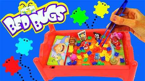 Bed Bugs Family Game Night Challenge + Toy Grab Board Game