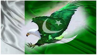 Pakistan Flag Wallpapers Shaheen Eagle Map August