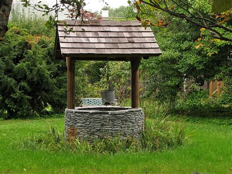 Backyard Well by Wishing Well Backyard Wishing Well Along Bridge St