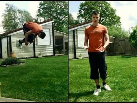 comment faire un salto avant au sol tuto front flip fran 231 ais