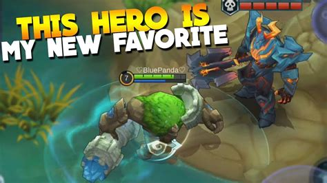 New Hero Grock Gameplay! & New Lord Rework Mobile Legends