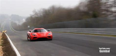 koenigsegg agera  clocks  mph nuerburgring speed