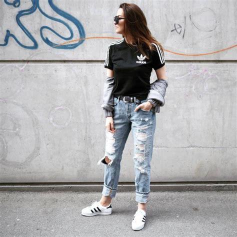 Jeans Tumblr Denim Blue Ripped Belt