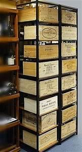 Casier A Bouteille Metallique : 81 best images about meuble bois cave vin cuisine on pinterest restaurants search and caves ~ Melissatoandfro.com Idées de Décoration