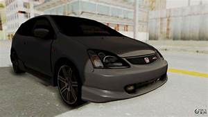 Honda Civic Type R Ep3 For Gta San Andreas  Black Bedroom