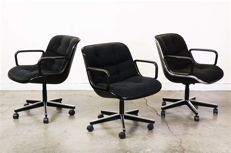 charles pollock office chairs for knoll vintage supply store