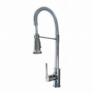 Aqueous Faucet Spartacus One Handle Single Hole Kitchen
