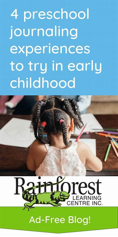 Early Preschool Childhood Journaling Try Experiences
