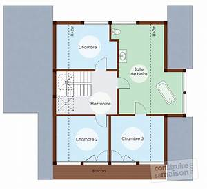 maison eco energetique a ossature bois detail du plan de With faire un plan de maison 2 une maison en ossature bois detail du plan de une maison