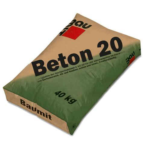 beton 40 kg baumit beton 20 beton uscat 20 40 kg