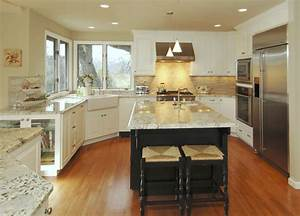 The best kitchen paint colors with white cabinets for Kitchen colors with white cabinets with spring wall art