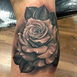 Rose En Tatouage : tatouage fleur rose tattoo 25 inkage ~ Farleysfitness.com Idées de Décoration
