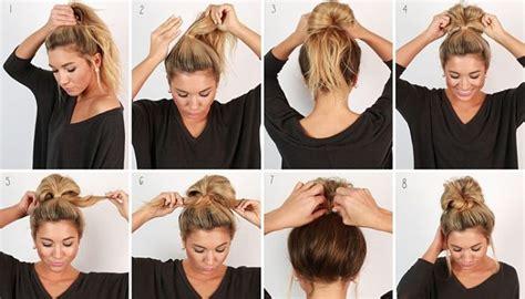 sensacionales peinados  pelo largo faciles  rapidos en