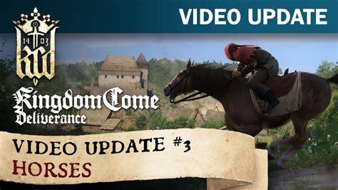 kingdom come deliverance horses game warhorse studios