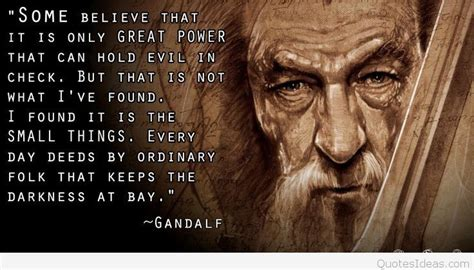 gandalf lord   rings quotes  pics