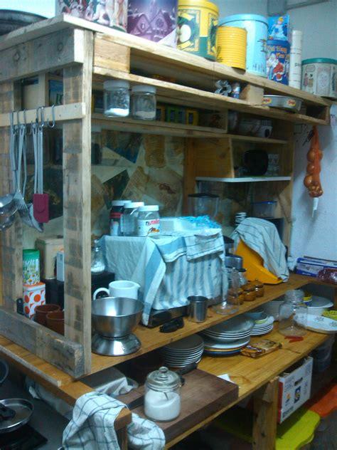 kuechenmoebel aus paletten  bauen sie sie selber