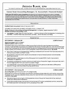 financial accountant resumes cpa resume sample monster com