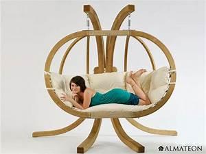 Fauteuil Suspendu 2 Places : fauteuil suspendu 2 places globo royal avec support ~ Teatrodelosmanantiales.com Idées de Décoration
