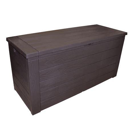 storage box storage box outdoor garden patio plastic chest lid