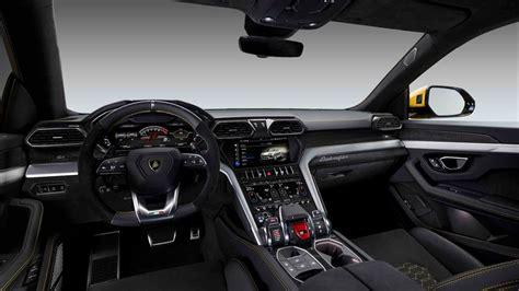2019 Lamborghini Urus Suv Interior