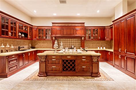 wooden kitchen design ideas the advantages of solid wood cabinets 1634