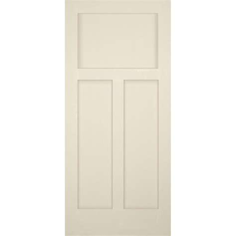 3 panel interior doors home depot builder 39 s choice 36 in x 80 in 3 panel craftsman solid