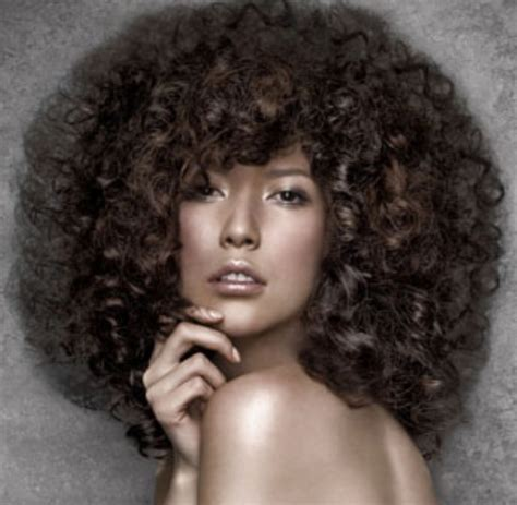 women big curly hair picture png
