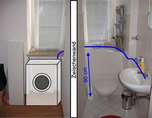 Waschmaschine Unter Waschbecken : waschmaschine im badezimmer anschliesen ~ Watch28wear.com Haus und Dekorationen